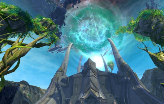 It's hard to tell if that massive rift is bad news for Aion or... you know, just business as usual.
