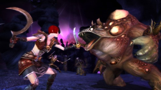 Dungeons &amp; Dragons Online: Menace of the Underdark screenshot