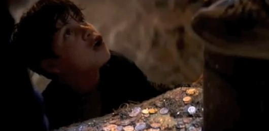 Goonies screenshot, down here