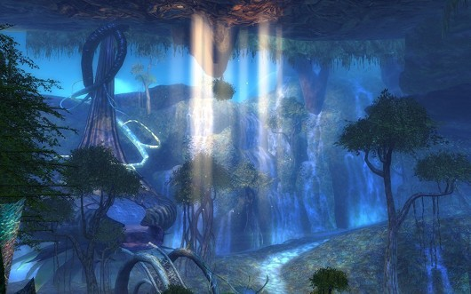 Screenshot -- Guild Wars 2 -- The Grove