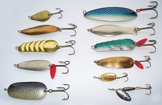 It's weird what a creepy picture fishing lures make.