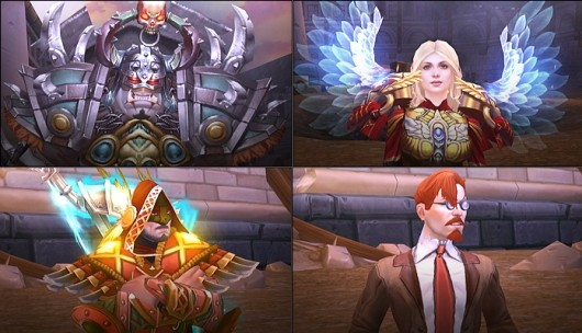 Allods Online has a few good mercs for hire