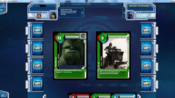 MMO Family  Clone Wars Adventures' Tale of Two Card Games