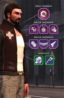 The Secret World - talisman slots