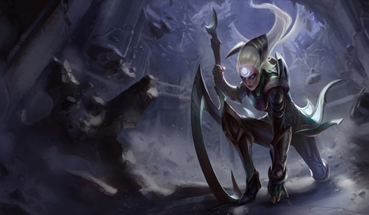 League of Legends - Diana concept art