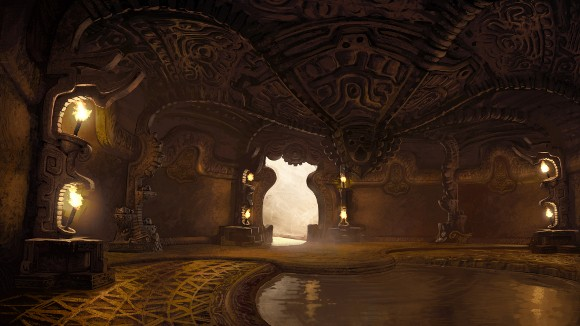 Age of Conan - Dragon's Spine boss room