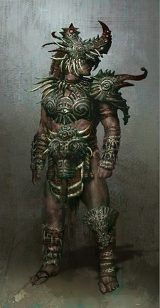 Age of Conan - Dragon's Spine armor concept
