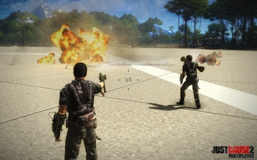 Fan project turns Just Cause 2 into a massively multiplayer title