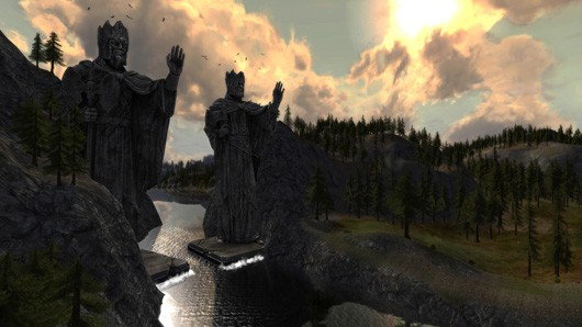 Lord of the Rings online Rohan screenshot