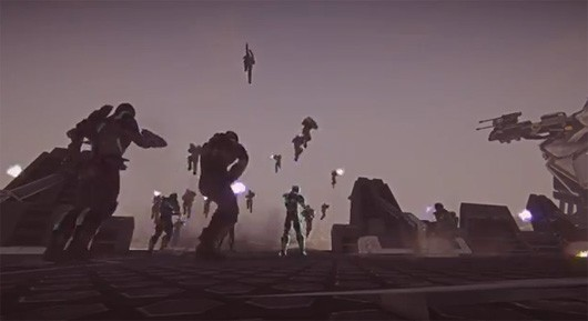 Gamescom 2012 SOE reveals new PlanetSide 2 trailer