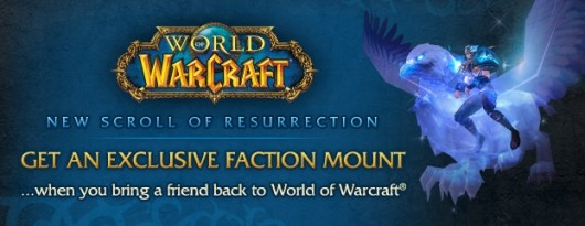 World of Warcraft upgrades its Scroll of Resurrection