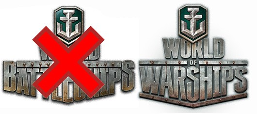 World of Battleships renamed World of Warships