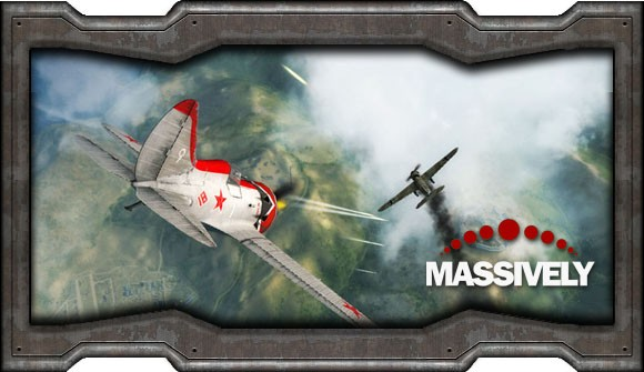 World of Warplanes - dogfight