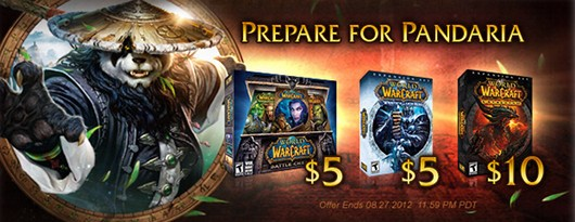 World of Warcraft sale banner