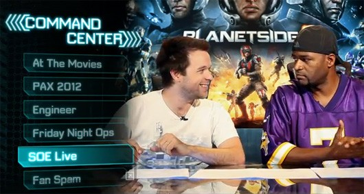 PlanetSide2 Command Center video highlights Engineer class new livestream and more