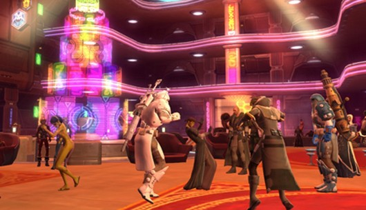 BioWare testing new highpopulation server tech for SWTOR