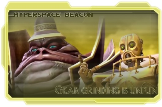 Hyperspace Beacon Gear grinding is unfun