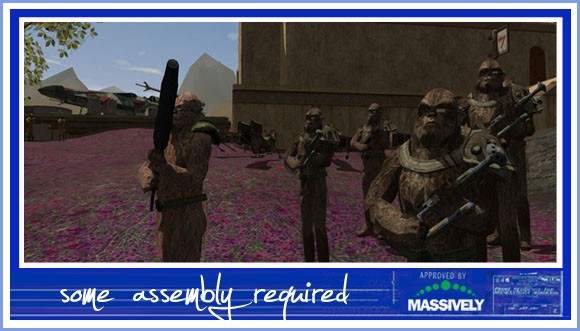 Star Wars Galaxies - wookiees