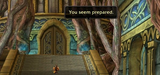 Hopefully you're prepared! (Pic from WoW Insider)