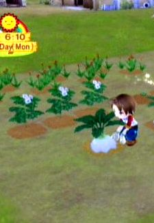 Harvest Moon games are going to be replaced by social farming-based games.  It's the wave fo the future!