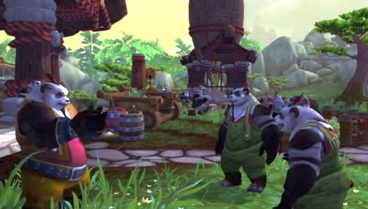 Yes, you should probably expect Pandaren.  If you didn't know that part, there's no hope.