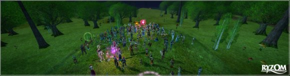 Official Ryzom server merge screenshot from Facebook