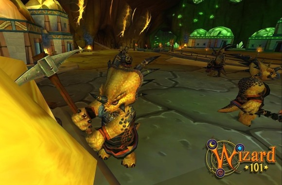 Wizard101 invites us to the dinosaur world of Azteca embargo 100 pm EDT 1024