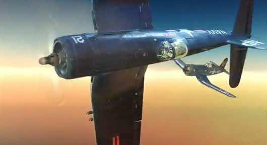 These are Corsairs. They are the most beautiful machines ever built.