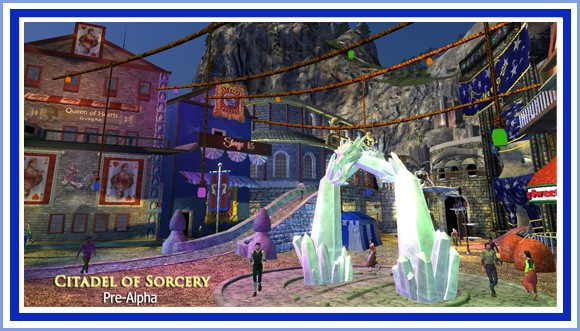 City of Sorcery pre-alpha screenshot