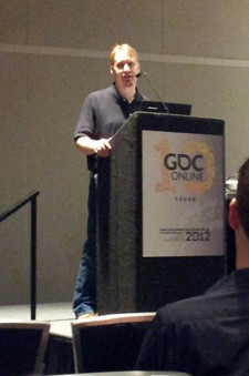 GDC Online 2012 SWTOR's Damion Schubert disects story as a mechanic