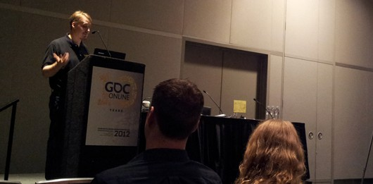 BioWare's Damion Schubert at GDC