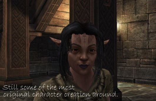 Dark Age of Camelot character creation screenshot