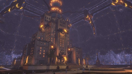 DC Universe Online's next DLC introduces player housing