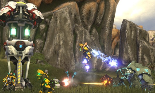 Firefall's lates dev diary highlights Chosen Warfront metagame
