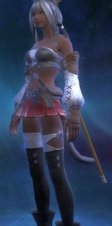 I should be happier that miqo'te get their own outfit to cosplay as Ashe.  I'm not, though.