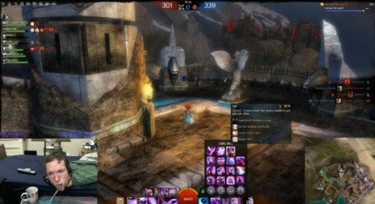 Keith 'Aieron' Knight playing Guild Wars 2