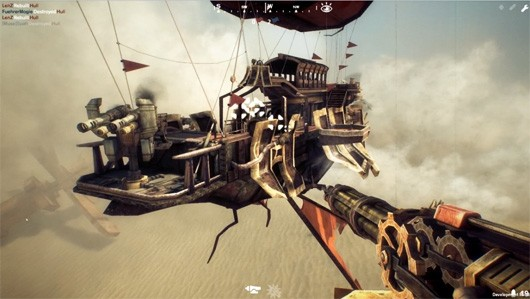 Guns of Icarus Online launches its airships along with a trailer