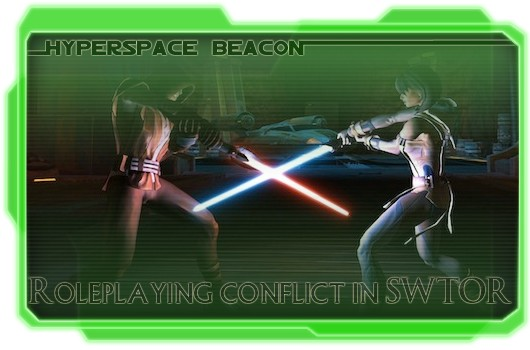 Hyperspace Beacon Roleplaying conflict in SWTOR