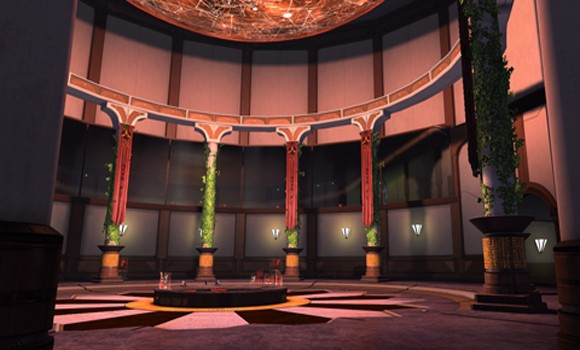 STO Klingon Embassy interior