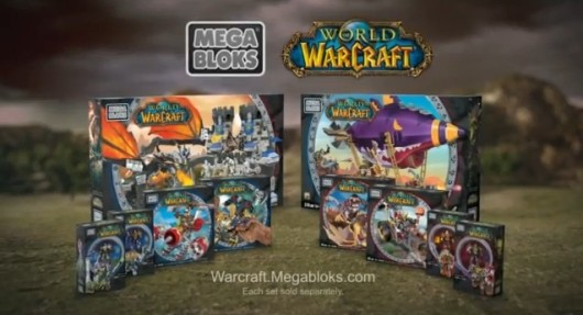 World of Warcraft Mega Bloks commercial airs