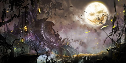 The Mad King returns in Guild Wars 2's Halloween event