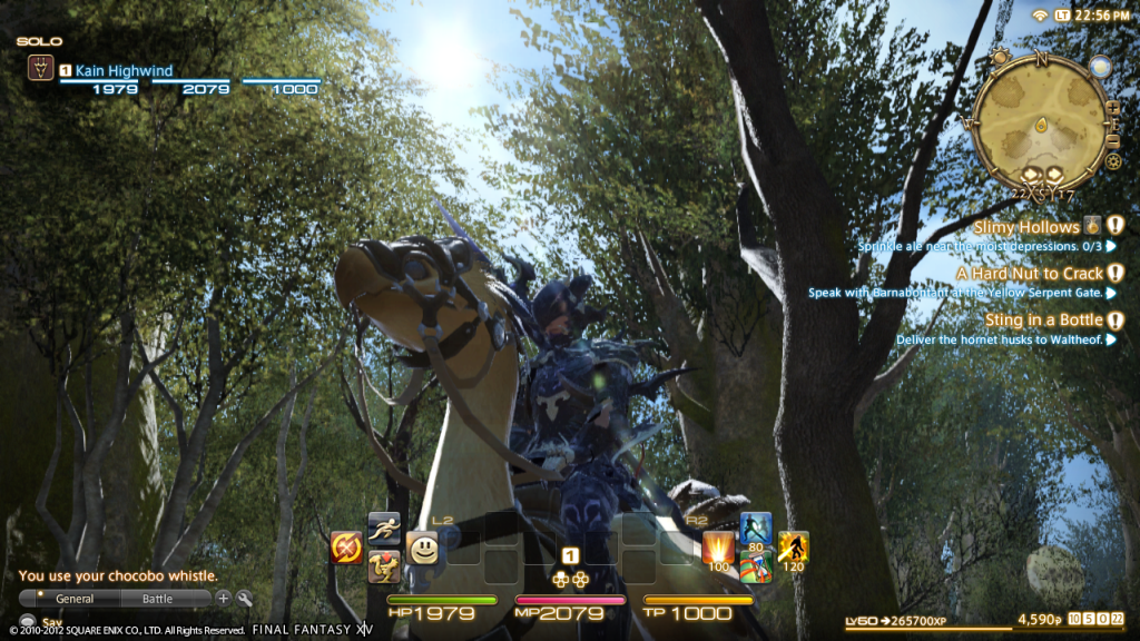 ps3ui1 Final Fantasy XIV shows off A Realm Reborn on the PlayStation