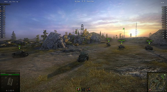 World of Tanks Graphics