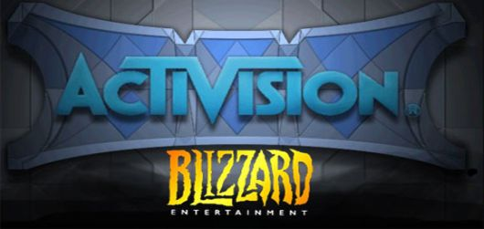 Activision, the Blizzard logo's hat.