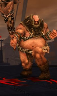 I wouldn't call him an ogre, but... well, actually, yeah, ogre.