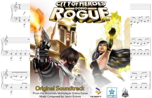 Jukebox Heroes City of Heroes' soundtrack