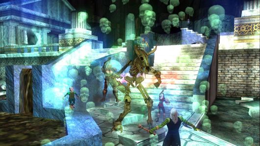 We used to make EverQuest players wear shirts to that effect, to make sure they weren't involved in any of our reindeer games.