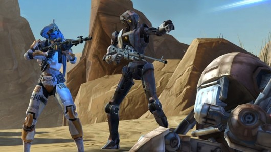 SWTOR uploads new companion HK51's backstory