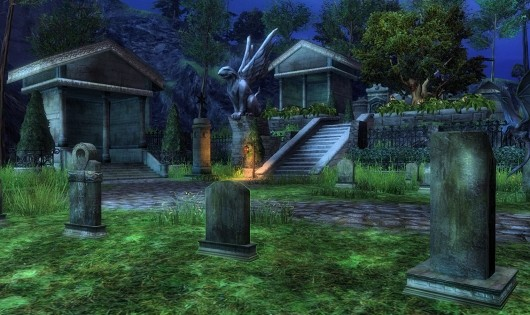 Guild Wars 2 graveyard