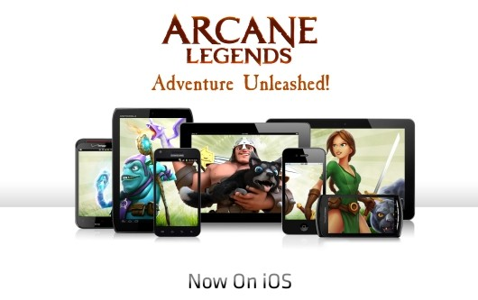 Arcane Legends arrives on iOS
